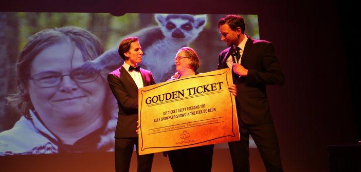 Moniek krijgt gouden ticket voor De Beun